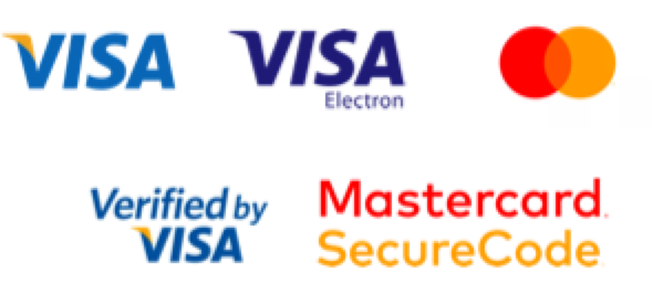 Accepted Payment methods: Via, Visa Electron, Mastercard